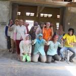 team of workers that make teak furniture